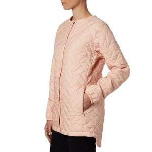 Columbia Sweet View Quilted Jacket Peach Sz Medium